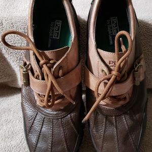 Ralph Lauren 12D Brown ankle boots